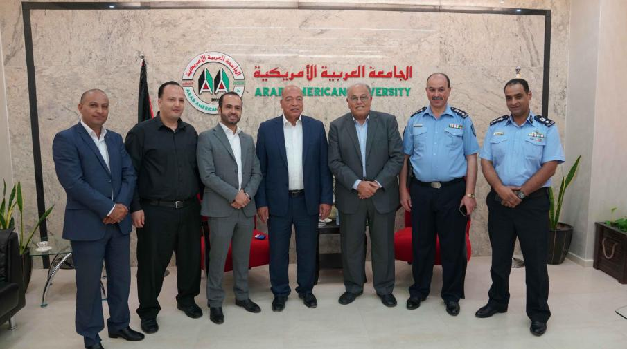 AAUP and the Palestinian Police Sign a Cooperation Agreement in Several Fields