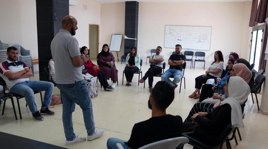 "AAUP Organizes a training course for its Students about ""Cultural Initiatives Management and Teamwork"""