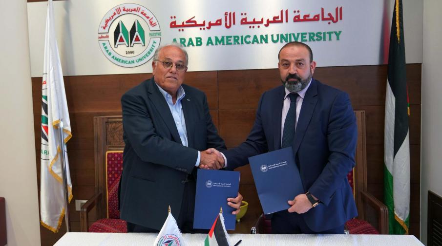 الجامعة توقع اتفاقية تعاون وتبادل للخبرات مع النيابة العامة لدولة فلسطين