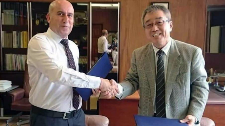 اتفاقية تعاون بين الجامعة وجامعة اوكاياما اليابانية