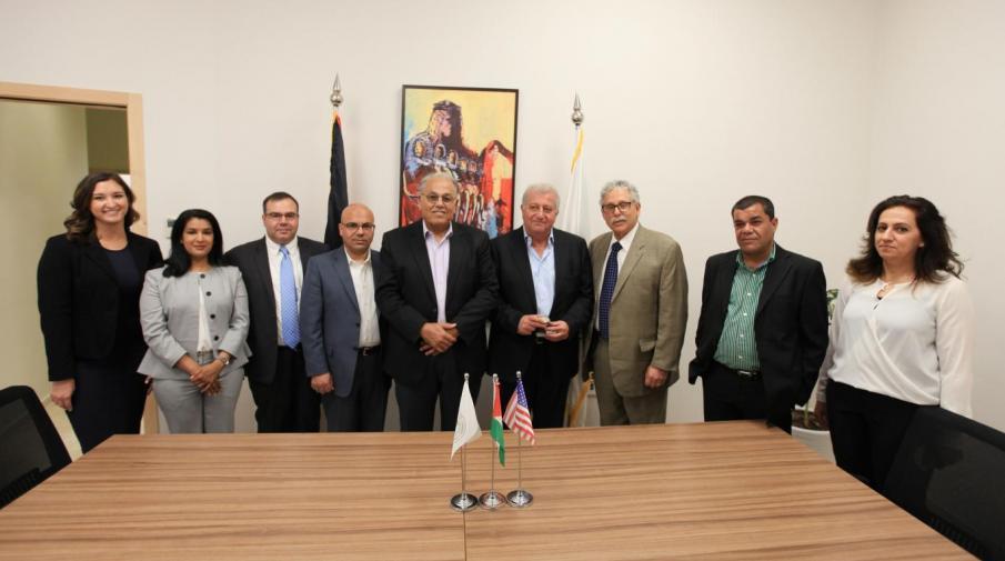 Arab American University and the University of Michigan, USA signing MoU