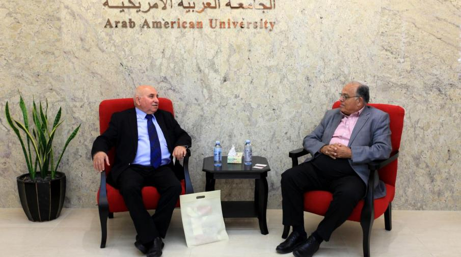 University President meeting Granada College Director