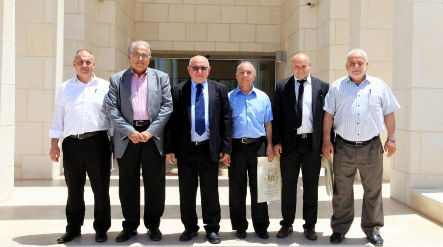 Granada College delegation with AAUJ President