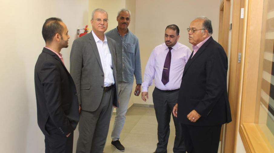 President of Al-Ain University of Science and Technology Prof. Dr. Ghalib Rifai visit