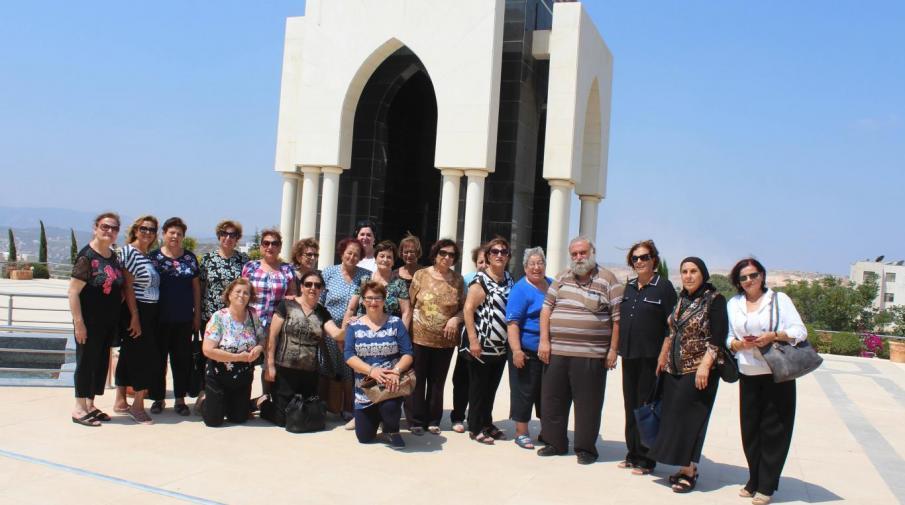 وفد من فلسطينيي الداخل يزور الجامعة العربية الامريكية للتعرف عليها