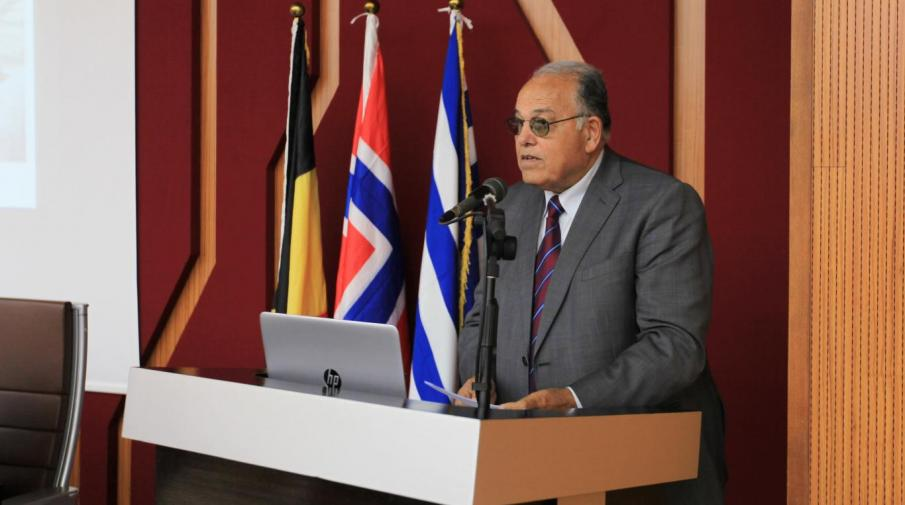 The President speech in the 4th International Digital Heritage Conference Launch