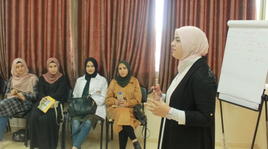 """During the discussion of """"Grape Leaves (Waraq Dawali)"""" movie by Sarah Abdawi"""