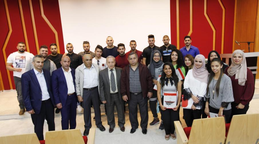 صورة تجمع الطلبة المشاركين في الدورة