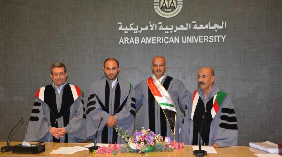 Researcher Taha Mohammed Abdul Rahman Abu Sariya, student of quality management