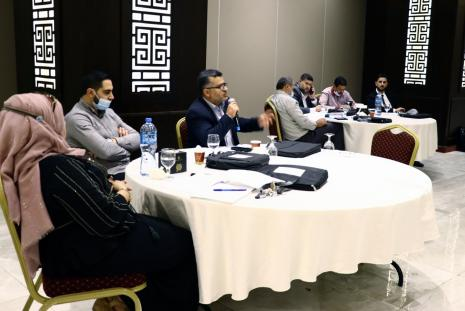 AAUP delegation during their participation in the workshop