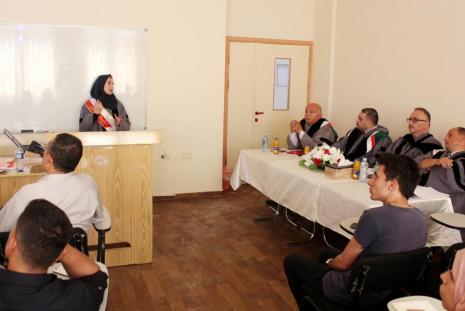 Researcher Hanan Zeidan Hamamra Thesis Defense