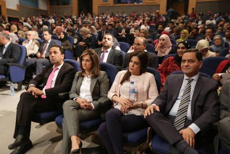 Tamayaz administration during the graduation ceremony