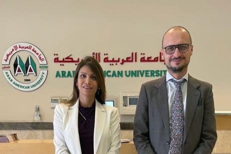 H.E. the Ambassador of the Republic of Lithuania Visits AAUP – Ramallah Campus
