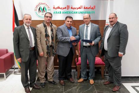 The University and Dimensions Group Co. signed a memorandum of understanding to develop academic programs
