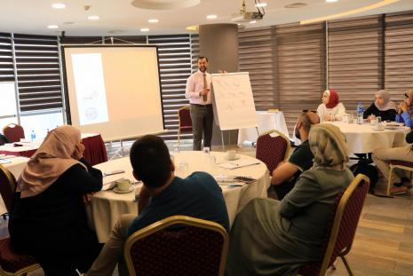 Hassib Al Sabbagh Center in AAUP Organizes a Training Course about Dental Clinics Management