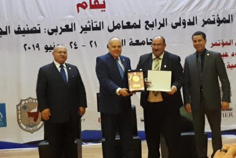 """AAUP Research Journal won the title of """"The Arab Distinguished Journal for Year 2019"""""""