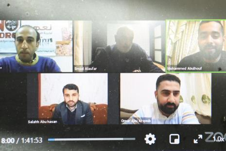 """Recommendations to Create an Observatory for the Digital Election Campaign, and AAUP Discusses """"What Do the Social Media Networks Hide to the Palestinian Elections?"""""""