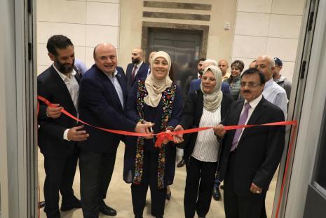 Grand Opening of Royal Gym at Arab American University Campus – Ramallah