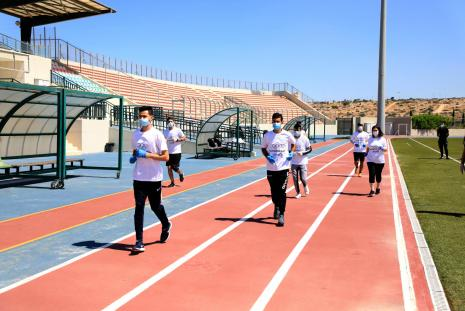 Part of the practical training for the Students of the Faculty of Sport Sciences