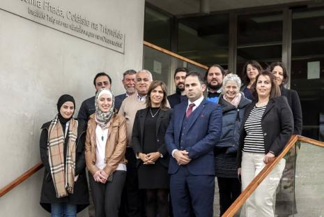 The University launches Erasmus project in Dublin, Ireland
