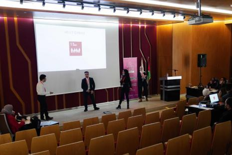 "The ""HULT PRIZE 2021"" Competition in AAUP"