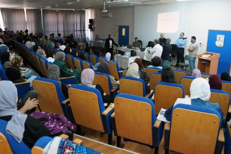 """AAUP Organizes a """"Forensic Laboratory Workshop"""" under Collaboration with the Police Academic Affairs Department"""