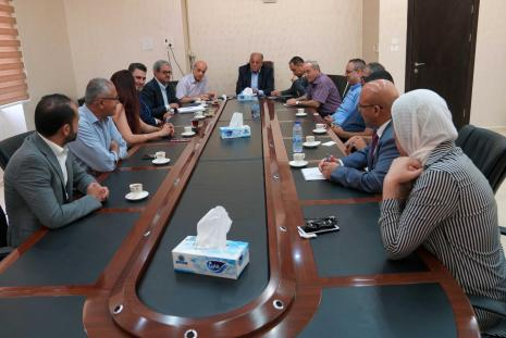 An Academic and Law Delegation From the Palestinian 1948 Territories Visits the University to Enhance Communications