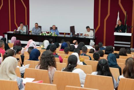 The Launching of International STEM Program in its Palestinian Version at the University