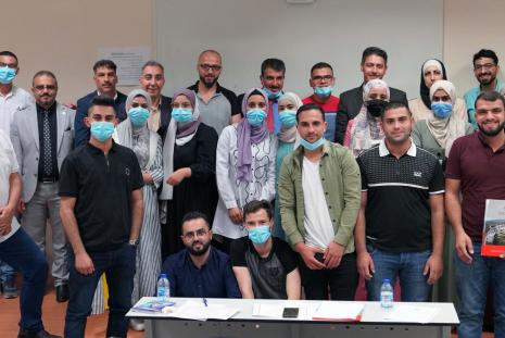 AAUP Concludes the Respiratory Care and Artificial Respiration Course for Employees of the Ministry of Health