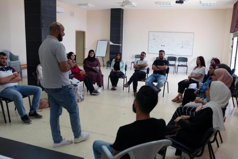 """AAUP Organizes a training course for its Students about """"Cultural Initiatives Management and Teamwork"""""""