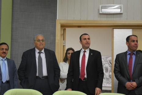 Venezuelan Ambassador to the State of Palestine visits the University in Ramallah