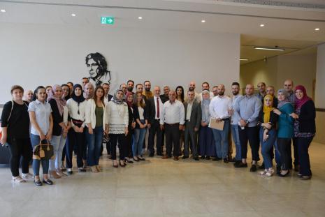 الجامعة تنظم لقاء لطلبة الماجستير حول صندوق الاستثمار الفلسطيني والتنمية في المناطق المسماة سابقا بـ (ج)