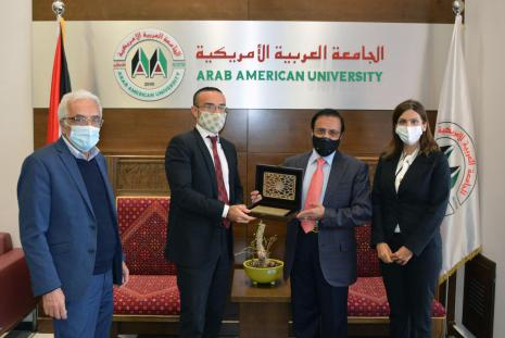 The Italian Consul General Visits AAUP
