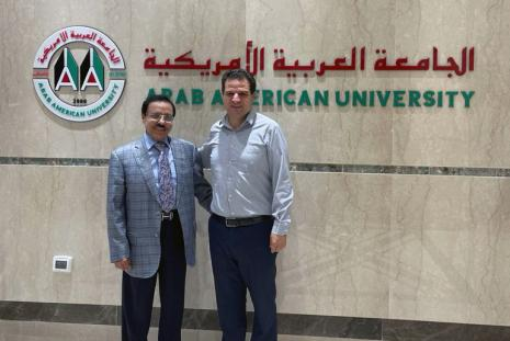 Chairman of the Board of Directors Receives the Head of the Joint List