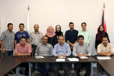 Group of the master scholarships applicants