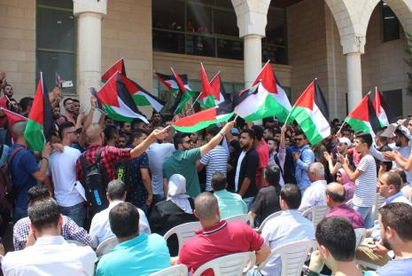 Part of the pause in solidarity with Al-Aqsa Mosque