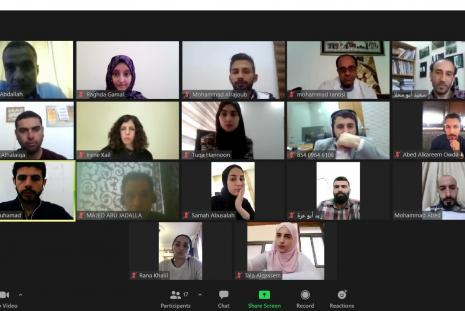 """AAUP and Al Jazeera Media Institute Concludes the Course about """"How to Cover Elections"""""""