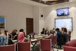 "The University organizes a workshop entitled ""Integrating the concepts and methodologies of archiving in Palestine"""