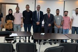 """AAUP Organizes a Workshop about """"Work Ethics in Auditing"""" for its Master in Accounting and Auditing Students"""