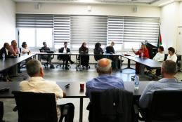 A Discussion Session at AAUP About the Importance of Establishing a Palestinian National Archive