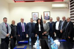 The University signs an agreement to support innovation and technology transfer to reflect the concept of intellectual property