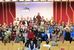 AAUP Hosts the Graduation Ceremony for Tamayouz Program