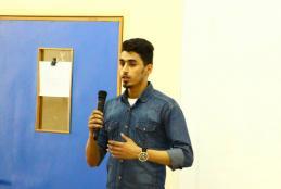 The distinguish student Suhaib Mari