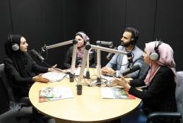 إذاعة الجامعة العربية الامريكية