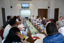 Part of the California universities delegation visit to the university