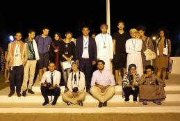 From of the participation in the International Film Festival in Tunis
