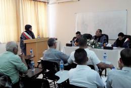 Researcher Rahmeh Abdul Karim Salman thesis defense