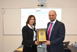 The Representative of the Republic of Cyprus Visits AAUP