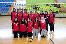 AAUP volleyball team
