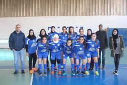 Arab American University girls football team